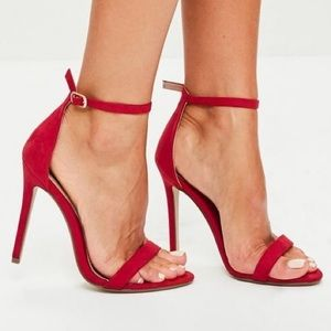 Misguided red heels